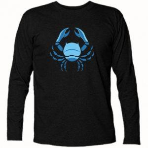 Koszulka z długim rękawem Rak niebieski lub różowy - PrintSalon