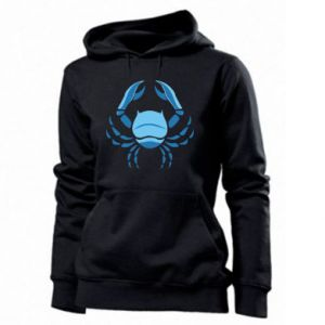 Women's hoodies Cancer blue or pink