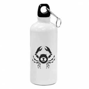 Water bottle Cancer and sign to the Cancer