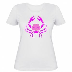 Women's t-shirt Cancer blue or pink