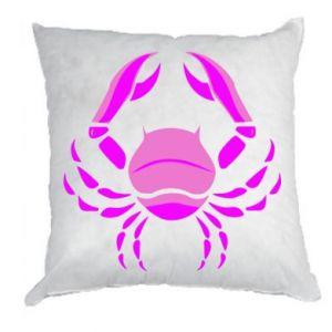 Poduszka Rak niebieski lub różowy - PrintSalon