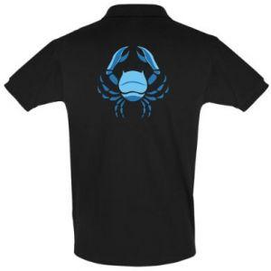 Koszulka Polo Rak niebieski lub różowy - PrintSalon