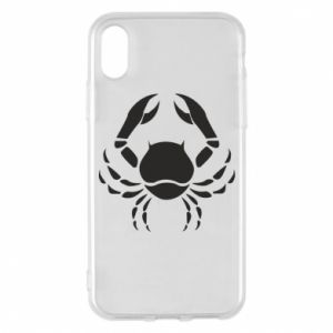 Phone case for iPhone X/Xs Cancer