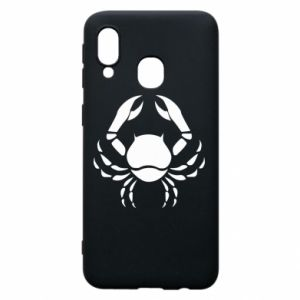 Phone case for Samsung A40 Cancer