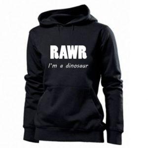 Damska bluza Rawr. I'm a dinosaur
