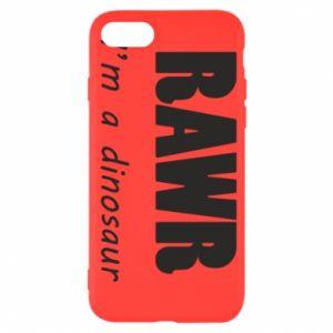 Etui na iPhone SE 2020 Rawr. I'm a dinosaur