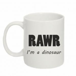 Kubek 330ml Rawr. I'm a dinosaur