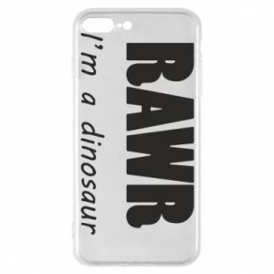 Etui na iPhone 7 Plus Rawr. I'm a dinosaur