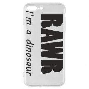 Etui na iPhone 8 Plus Rawr. I'm a dinosaur