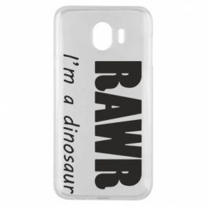 Etui na Samsung J4 Rawr. I'm a dinosaur