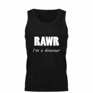 Męska koszulka Rawr. I'm a dinosaur