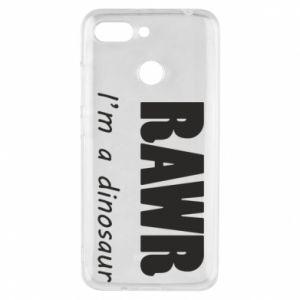 Etui na Xiaomi Redmi 6 Rawr. I'm a dinosaur