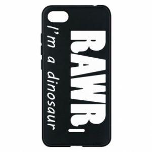 Etui na Xiaomi Redmi 6A Rawr. I'm a dinosaur