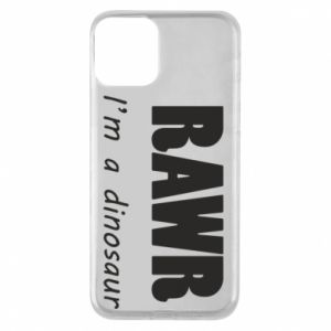 Etui na iPhone 11 Rawr. I'm a dinosaur