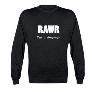 Bluza dziecięca Rawr. I'm a dinosaur