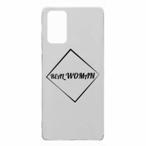 Etui na Samsung Note 20 Real woman