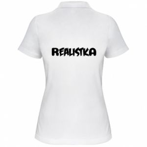 Koszulka polo damska Realistka