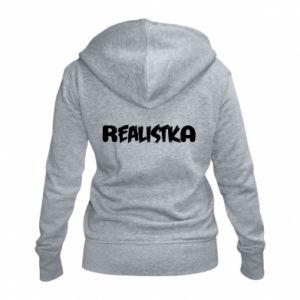Women's zip up hoodies Realist - PrintSalon