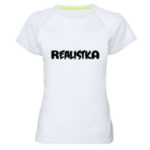 Koszulka sportowa damska Realistka