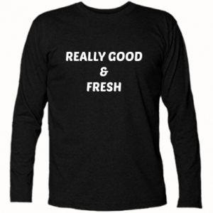 Koszulka z długim rękawem Really good and fresh