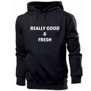 Męska bluza z kapturem Really good and fresh
