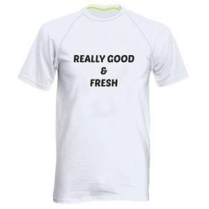 Męska koszulka sportowa Really good and fresh