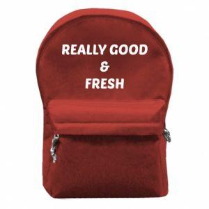Plecak z przednią kieszenią Really good and fresh