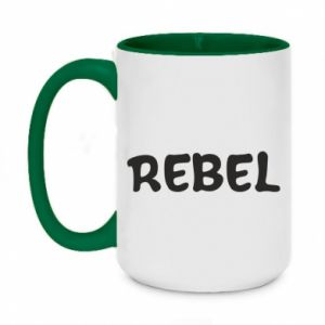 Kubek dwukolorowy 450ml Rebel