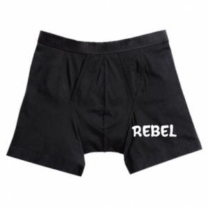 Bokserki męskie Rebel