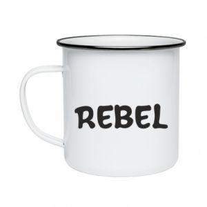 Kubek emaliowane Rebel