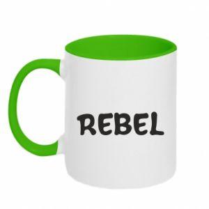 Kubek dwukolorowy Rebel