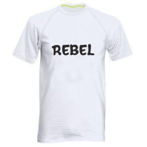 Męska koszulka sportowa Rebel