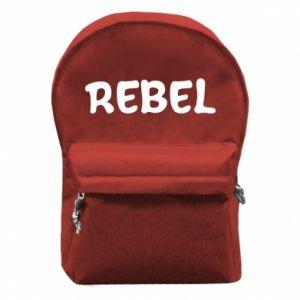 Plecak z przednią kieszenią Rebel