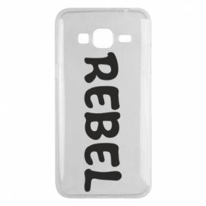 Etui na Samsung J3 2016 Rebel