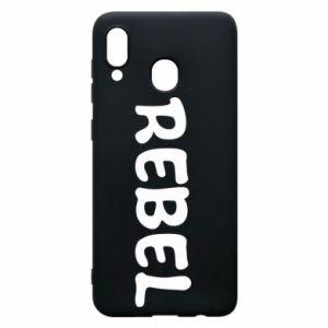 Etui na Samsung A20 Rebel