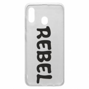 Etui na Samsung A30 Rebel
