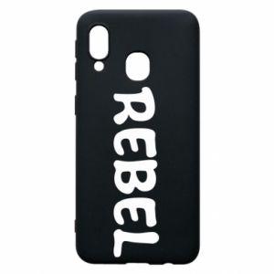 Etui na Samsung A40 Rebel