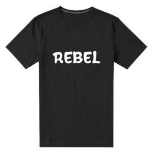 Męska premium koszulka Rebel