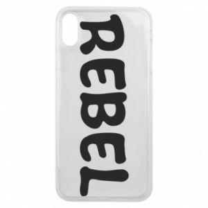 Etui na iPhone Xs Max Rebel