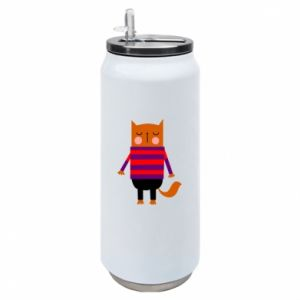 Puszka termiczna Red cat in a sweater