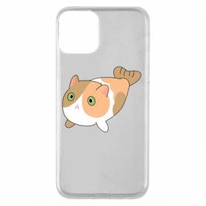 Etui na iPhone 11 Red cat mermaid
