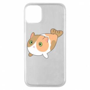 Etui na iPhone 11 Pro Red cat mermaid