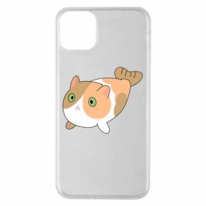 Etui na iPhone 11 Pro Max Red cat mermaid
