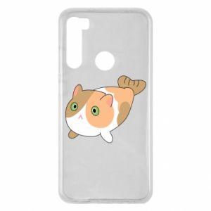 Etui na Xiaomi Redmi Note 8 Red cat mermaid