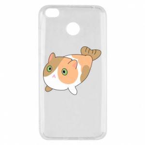 Etui na Xiaomi Redmi 4X Red cat mermaid