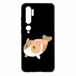 Etui na Xiaomi Mi Note 10 Red cat mermaid