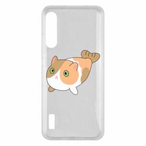Etui na Xiaomi Mi A3 Red cat mermaid