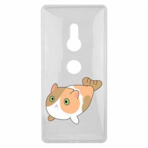 Etui na Sony Xperia XZ2 Red cat mermaid