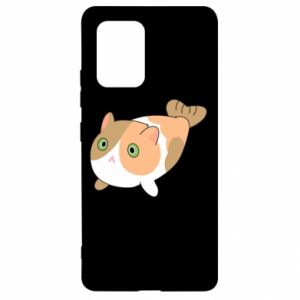 Etui na Samsung S10 Lite Red cat mermaid