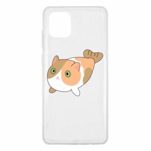 Etui na Samsung Note 10 Lite Red cat mermaid